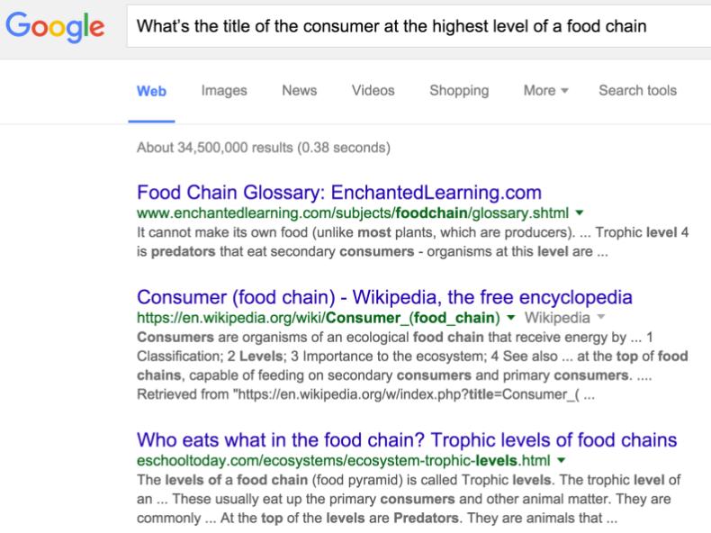 chain food