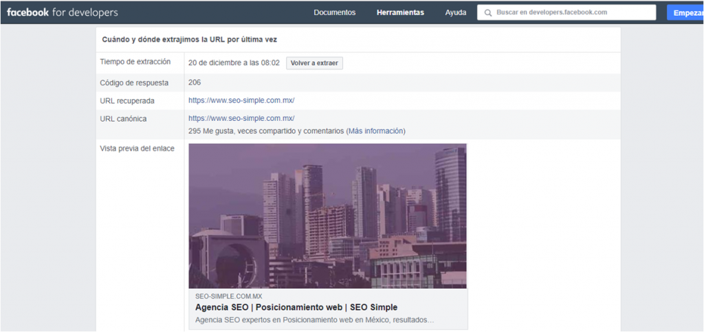 Facebook developers SEO